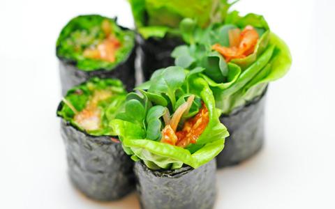 韓国風ロー海苔巻き