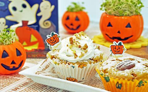 スプラウトとかぼちゃのケーキ