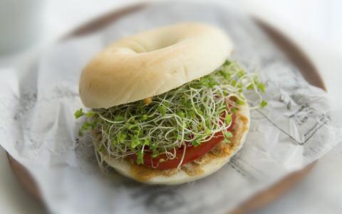 スプラウトのサンドイッチ