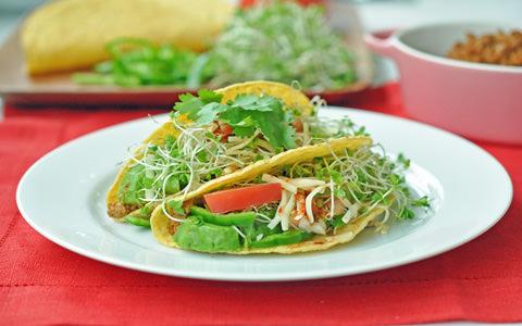 野菜たっぷり! メキシカンタコス