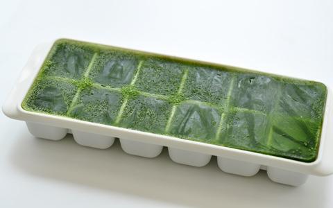 豆苗ペースト(冷凍保存)
